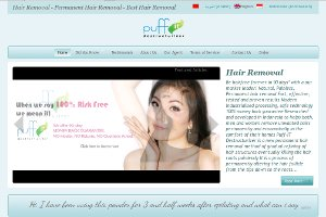 Puff-IT Hair Removal